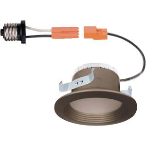 "DF Pro - 4"" 9.5W 1 3000K LED Recessed Ceiling Light Trim Light"