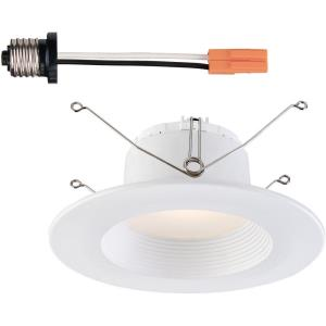 "DF Pro - 5"" 6"" 10.5W 1 3500K LED Recessed Baffle Trim Light"