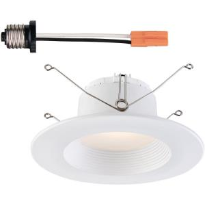 "DF Pro - 5"" 6"" 10.5W 1 5000K LED Recessed Baffle Trim Light"