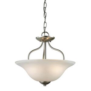 Conway - Two Light Convertible Semi-Flush/Pendant