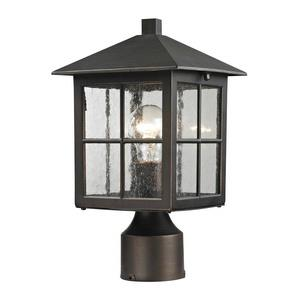 Shaker Heights - One Light Medium Post Lantern