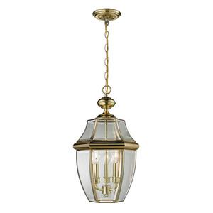Ashford - Three Light Large Outdoor Hanging Lantern