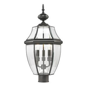 Ashford - Three Light Large Outdoor Post Lantern
