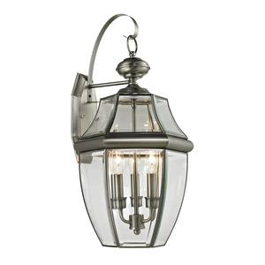 Ashford - Three Light Large Outdoor Coach Wall Lantern