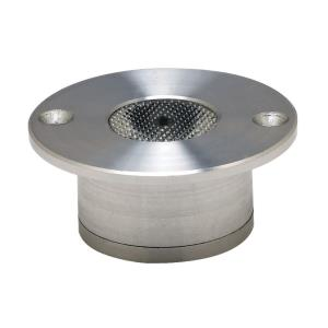 """Alpha - 2.5"""" 3W 1 LED Recessed Button Light"""