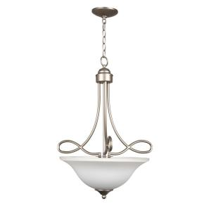 Cordova - Three Light Inverted Pendant - 21 inches wide by 25.25 inches high