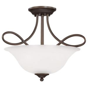 Cordova - Three Light Convertible Semi-Flush Mount