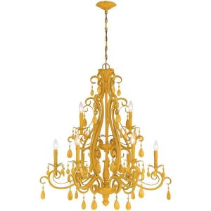 Englewood - Nine Light 2-Tier Chandelier - 34.5 inches wide by 37 inches high
