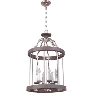 Ashwood - Six Light Foyer - 20 inches wide by 33.8 inches high