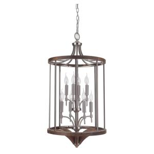 Tahoe - Eight Light 2-Tier Foyer - 18.31 inches wide by 35.43 inches high