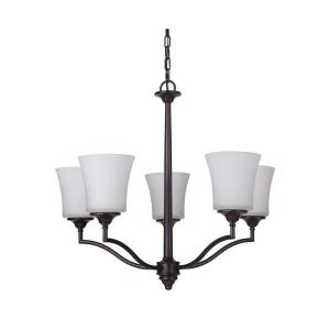 Helena - Five Light Chandelier - 25.5 inches wide by 22 inches high