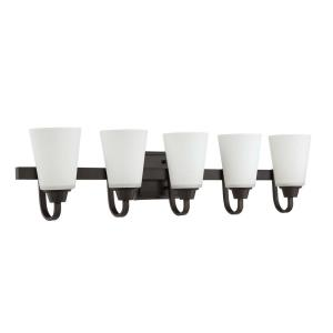 Grace 5 Light  Bath Vanity