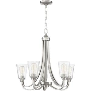 Grace - Five Light Chandelier - 26 inches wide by 27 inches high