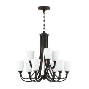 Grace - Nine Light 2-Tier Chandelier - 32 inches wide by 31 inches high
