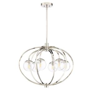 Piltz - Six Light Chandelier