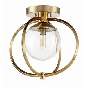 Piltz - One Light Semi-Flush Mount
