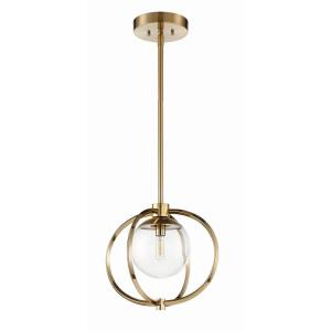 Piltz - One Light Mini Pendant - 14.5 inches wide by 57.25 inches high
