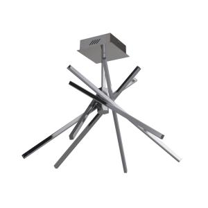 Pinnacle - 28 Inch 160W 4 LED Semi-Flush Mount
