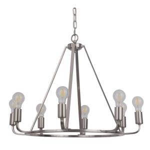 Arc - Eight Light Chandelier