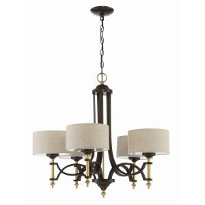 Colonial - Five Light Chandelier