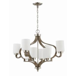 Jasmine - Eight Light 2-Tier Chandelier