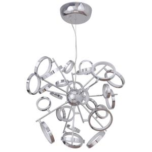 Mira - 2548W 26 LED Adjustable Ring Chandelier - 28.25 inches wide by 110.25 inches high