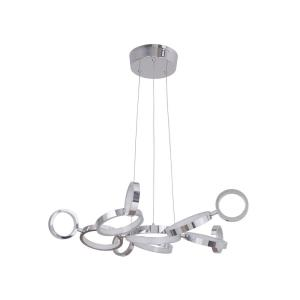 Mira - 110 Inch 484W 11 LED Adjustable Ring Chandelier