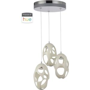 Ovale - 42W 3 LED Pendant - 13.8 inches wide by 10.63 inches high