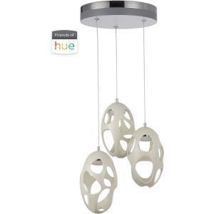 Ovale - 13.8 Inch 42W 3 LED Pendant
