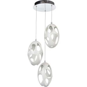 Ovale - 13.5 Inch 36W 3 LED Pendant