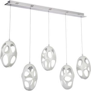 Ovale - 43.25 Inch 100W 5 LED Pendant