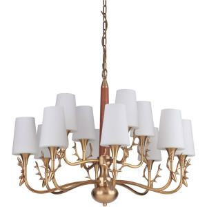 Churchill - Twelve Light Chandelier - 34.4 inches wide by 26 inches high