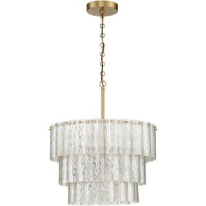 Museo - Twelve Light 3-Tier Pendant - 29.5 inches wide by 32 inches high