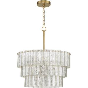 Museo - Nine Light 3-Tier Pendant - 20.5 inches wide by 25 inches high