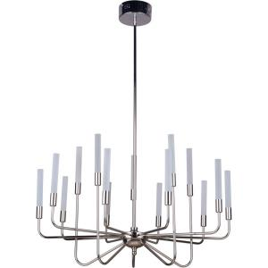 Valdi - 675W 15 LED 3-Tier Chandelier - 32.5 inches wide by 20.25 inches high