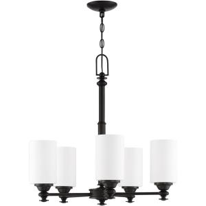 Dardyn - Five Light Chandelier in Transitional Style - 25 inches wide by 25 inches high