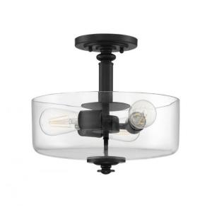 Dardyn - Three Light Convertible Semi-Flush Mount - 13 inches wide by 15 inches high
