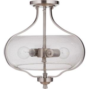 Serene - Two Light Semi-Flush Mount