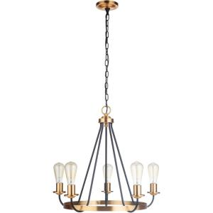Randolph - Five Light Chandelier
