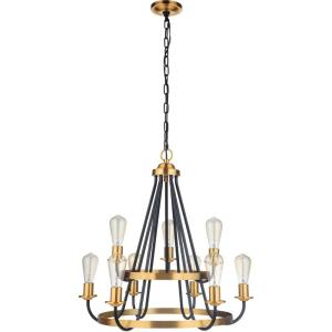 Randolph - Nine Light Chandelier