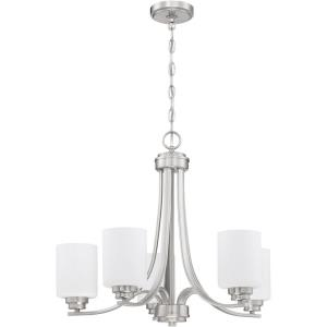 Bolden - Five Light Chandelier in Transitional Style - 24 inches wide by 20.5 inches high