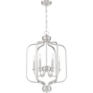 Bolden - Six Light Foyer in Transitional Style - 18 inches wide by 29 inches high