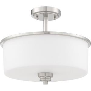 Bolden - Two Light Convertible Semi-Flush Mount