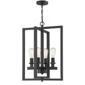 Chicago - Four Light Foyer in Transitional Style - 18 inches wide by 25.5 inches high
