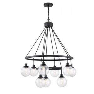 Que - Nine Light Chandelier