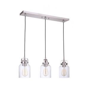 Foxwood - Three Light Linear Pendant
