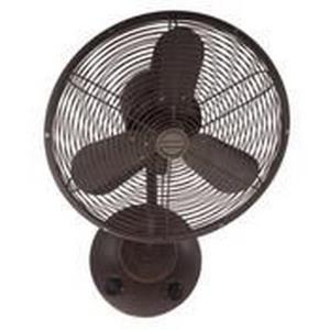 "Bellows I - 16"" Wall Mount Fan"