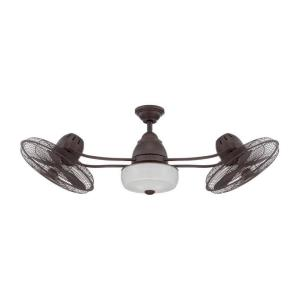 "Bellows II - 48"" Dual Head Ceiling Fan"