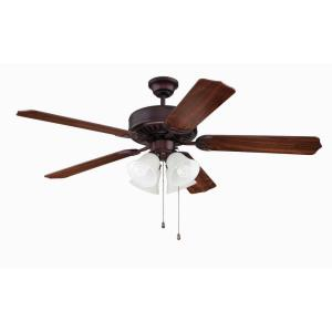 "Pro 203 - 52"" Ceiling Fan with Light Kit"