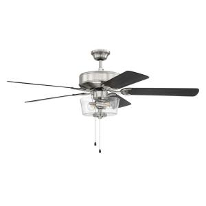 Pro 211 - 52 Inch 5 Blade Ceiling Fan with Light Kit and Pull Chain Control